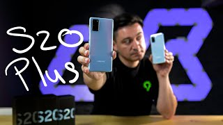 Samsung Galaxy S20 Plus - UNBOXING & REVIEW