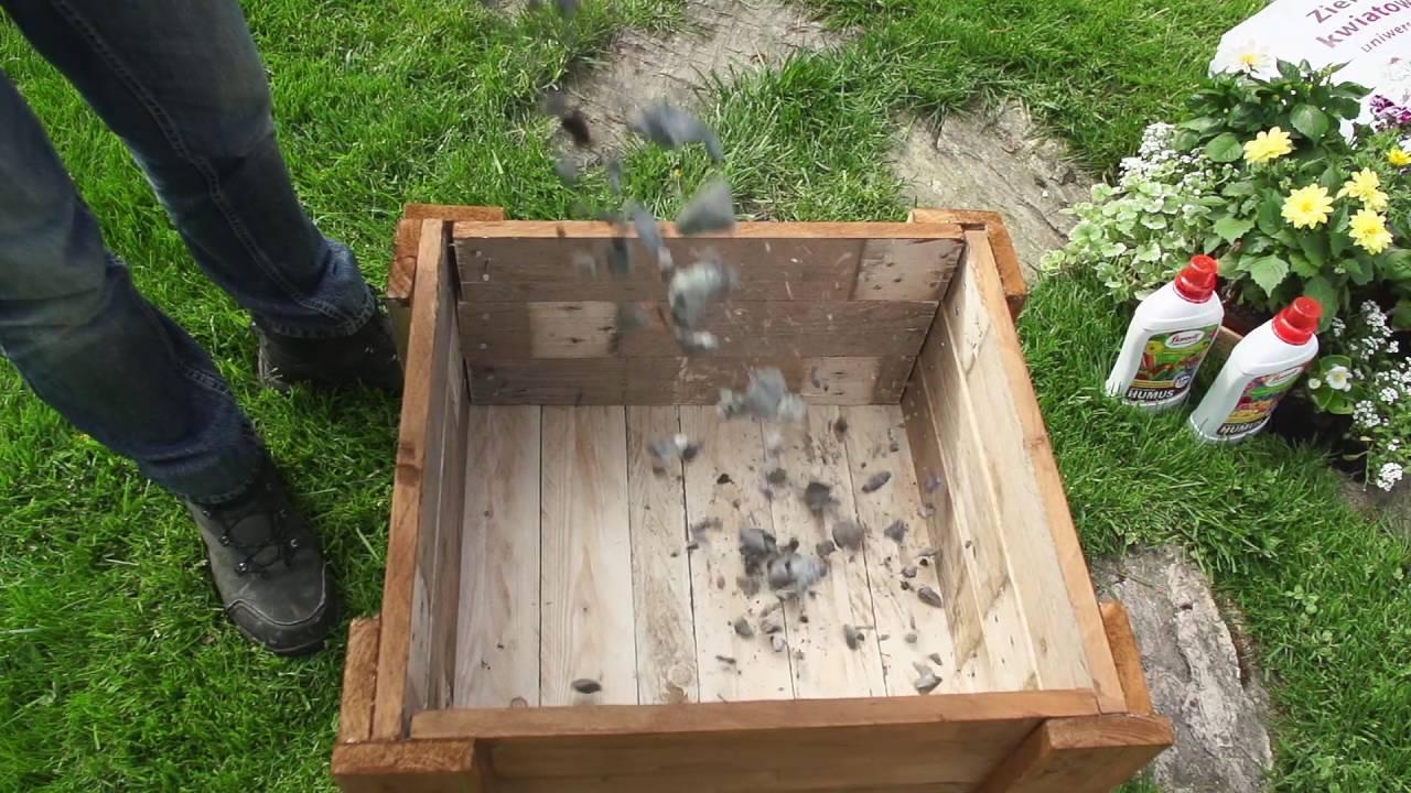 Jak Zrobić Drewnianą Skrzynię Na Kwiaty