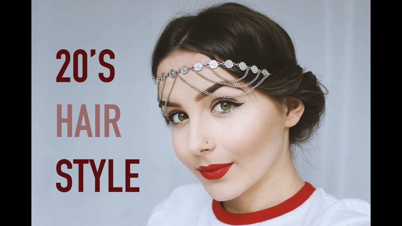 how to do your hair 1920s style 20 s hair style tutorial 7829