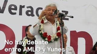 AMLO y Yunes no tendrán debate - Política - En Punto con Denise Maerker