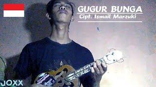 GUGUR BUNGA Versi ukulele kentrung fingerstyle | Cipt. Ismail Marzuki