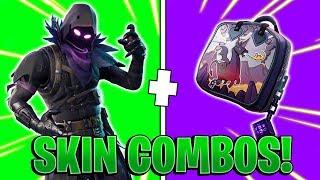 THE 10 BEST SKIN COMBINATIONS in Fortnite! | Fortnite Skin Combos!