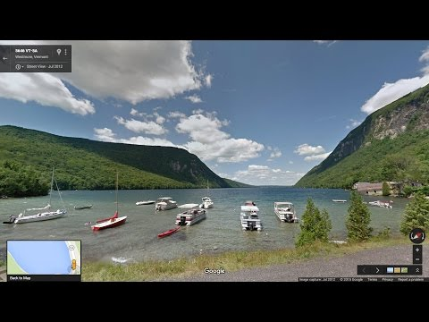 Willoughby Gap Time Lapse made with Google Street View