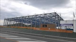 群馬県の多田山産業団地、2015年6月6日。第1編:県道前橋西久保線沿い。