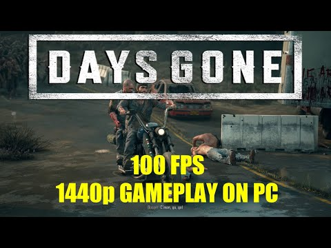 Days Gone - PC Gameplay - Ryzen 5600X and RX 5700 XT at 1440p