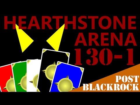 Post-Blackrock Hearthstone Arena #130 Part 1 (Paladin)