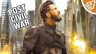Where Has Captain America Been Since Civil War? (Nerdist News w/ Jessica Chobot)