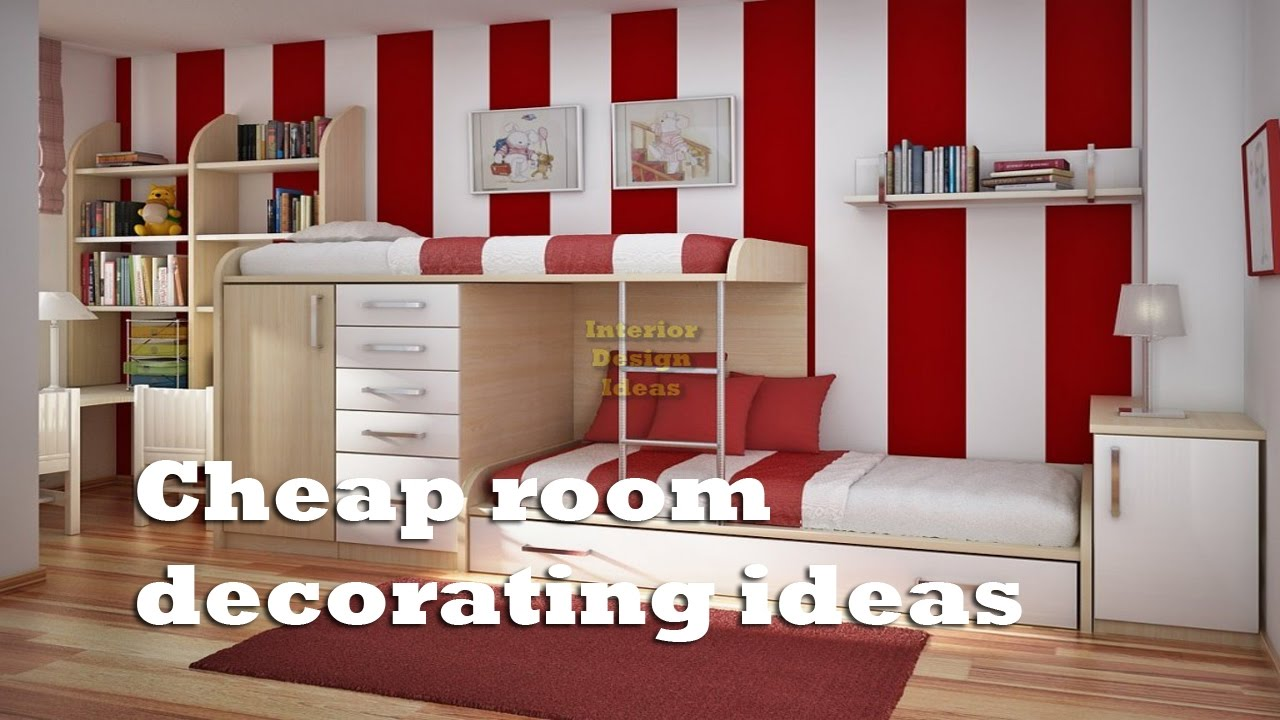 Cheap Room Decorating Ideas Easy Cheap Room Decor Ideas Youtube