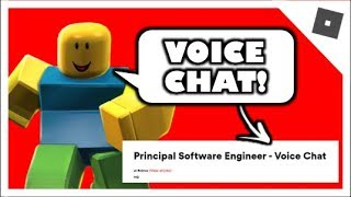 Voice Chat is Coming to Roblox?!