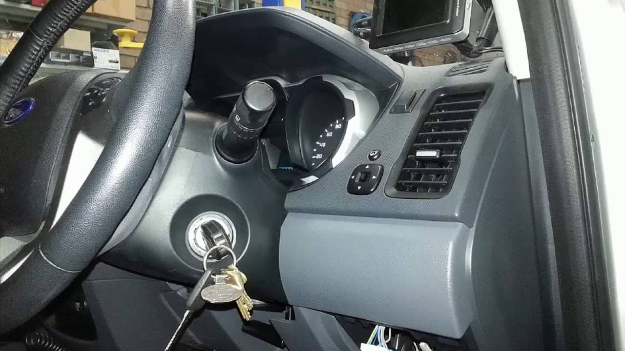 Where to find an accessory or ignition wire in your car Like this Ford Ranger  YouTube
