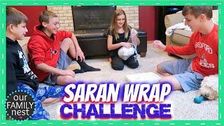 SARAN WRAP CHALLENGE