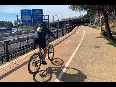 el-carril-bici-que-conecta-barcelona-con-esplugues-cumple-un-año