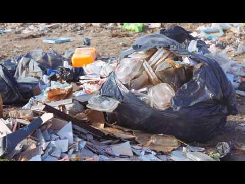 Mirá las impactantes imágenes de la basura en la ciudad