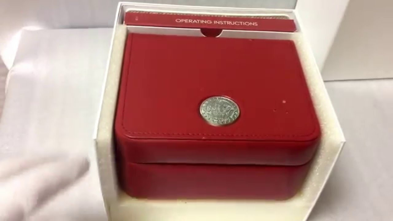 Omega Watch Box For Sale Ebay Id Plainflour With 2 Cards