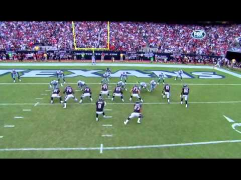 Keith Brooking Sacks Matt Schaub Vs Texans