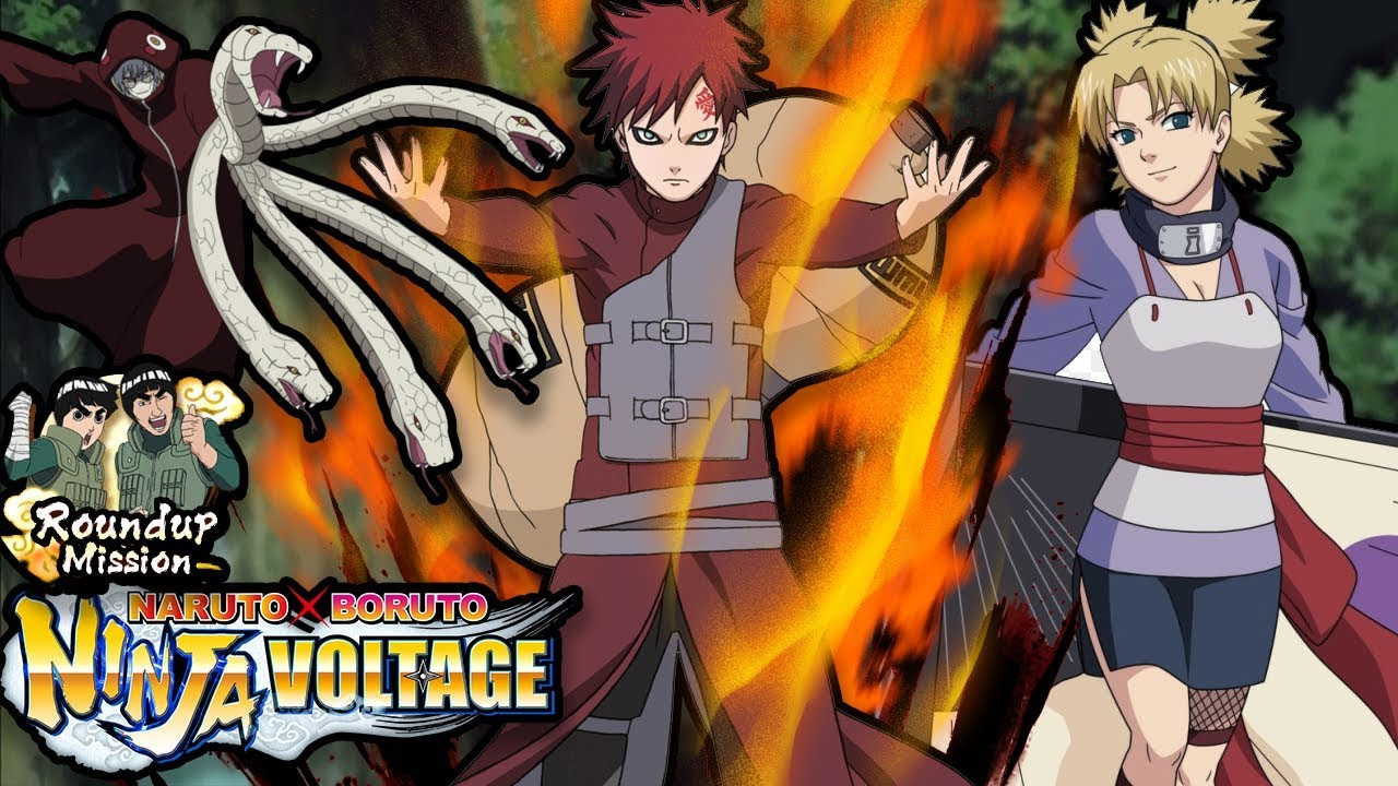 Best NON Special Shinobi to Use in ROUND UP MISSION! | Naruto X Boruto  Ninja Voltage