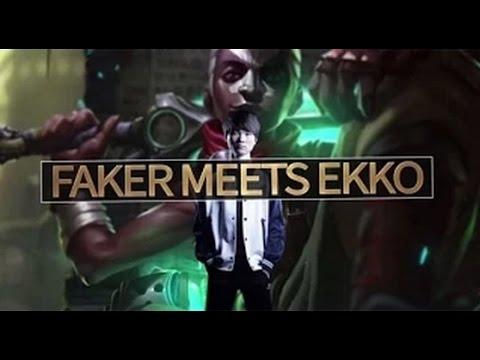 Faker Ekko pentakill