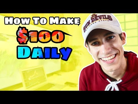 How You Can Make $100 Daily Swing Trading | Stock Market Investing