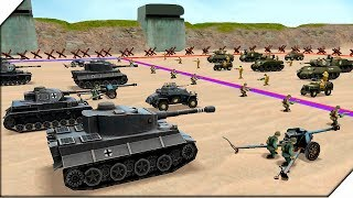 БОЕВОЙ СИМУЛЯТОР Второй Мировой Войны на Андроид - Игра WW2 Battle Simulator