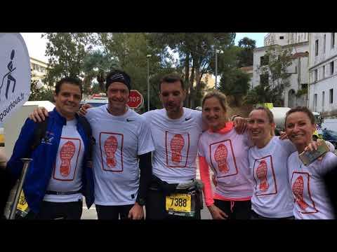 Trail pour tous sur le marathon Nice Cannes 2017 avec la SBM et les Pompiers de Menton