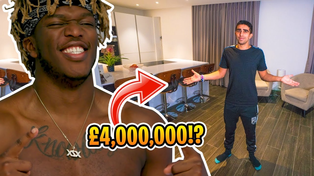 THE SIDEMEN HOUSES! | Vikkstar Spent How Much!?