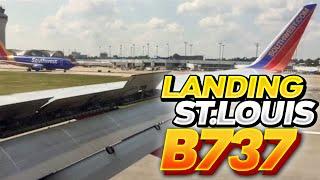 Landing At Lambert- St. Louis International Airport (STL)- Southwest Airlines (HD) (60FPS)