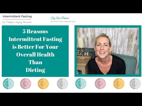 Intermittent Fasting for Today's Aging Woman | 5 Reasons Why Fasting is better  than a diet