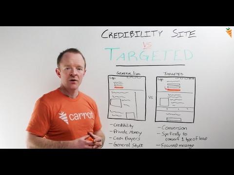 Real Estate Website Design: Credibility Sites Vs. Targeted Sites