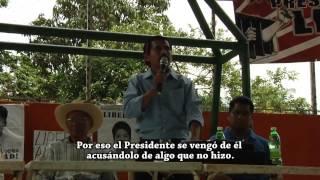 Documental sobre la vida y lucha del preso político de El Bosque, Chiapas