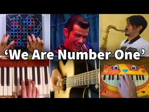 Who Played It Better: We Are Number One - LazyTown (Saxophone, Piano, Guitar, Cat Piano, Launchpad)