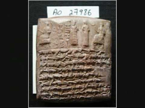 The first alphabet in history was found in Ugarit, Syria