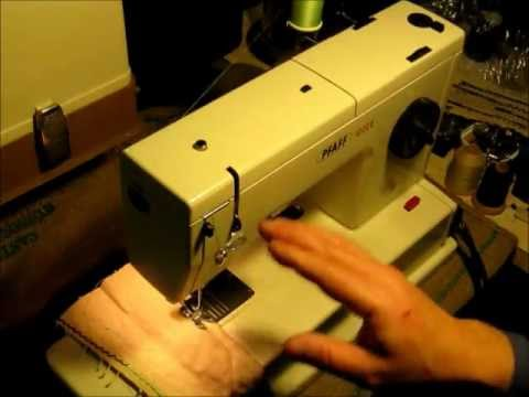 Pfaff 1222E Sewing Machine - YouTube
