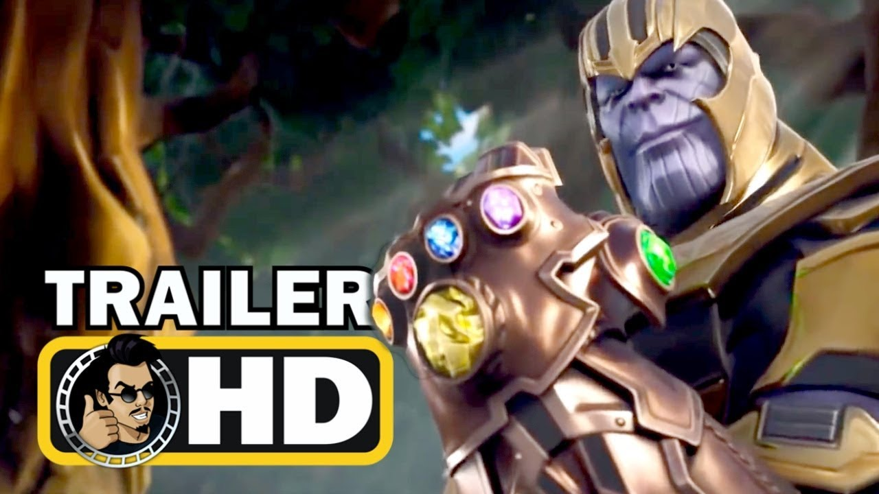 Fortnite Thanos And Infinity Gauntlet Gameplay Trailer