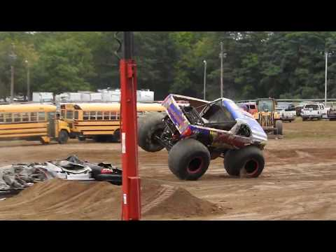 Monster Truck Turbulence Has Some Moves