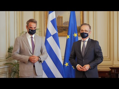 German Foreign minister meets Greek Prime minister in Athens | AFP