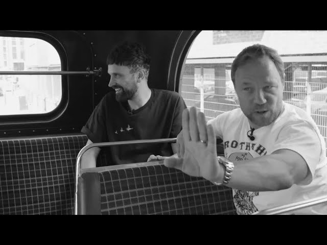 Kasabian's Serge Pizzorno and actor Stephen Graham interview
