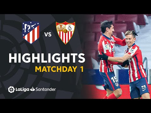 Atletico Madrid Sevilla Goals And Highlights