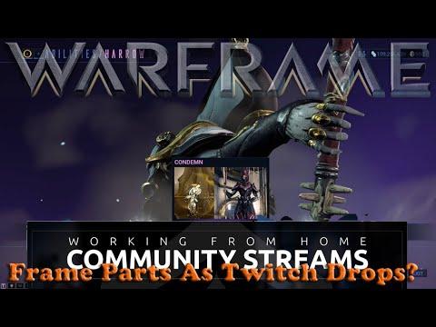 Warframe - Frame Parts As Twitch Drops thumbnail