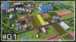 FARM MANAGER 2018   #01   Die Kampagne - Unser Bauernhof! aber Papas Regeln! - Aufbauspiel