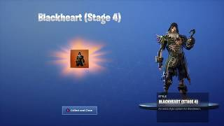 'NEW' UNLOCKING STAGE 4 OF BLACK HEART on Fortnite Battle Royale Saison 8
