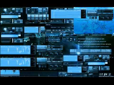 Theme Event Horizont estilo hacker
