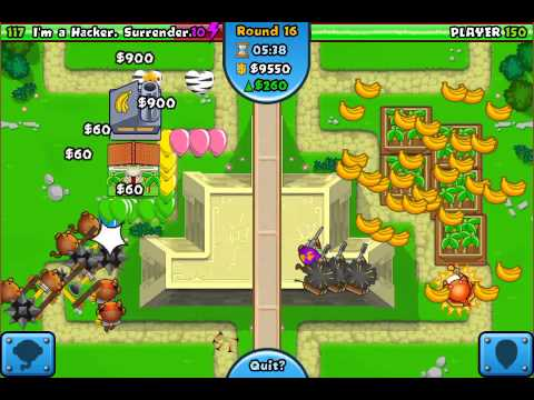 Bloons TD Battles Mobile Ep 26: How to Not Lose to a Hacker