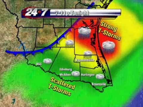 Bryan Hale's Weather Forecast for Deep South Texas
