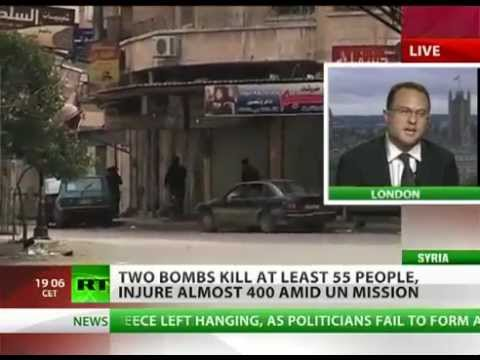 Syria : Reign of Terror as 55 killed in Damascus bombings (May 10, 2012)