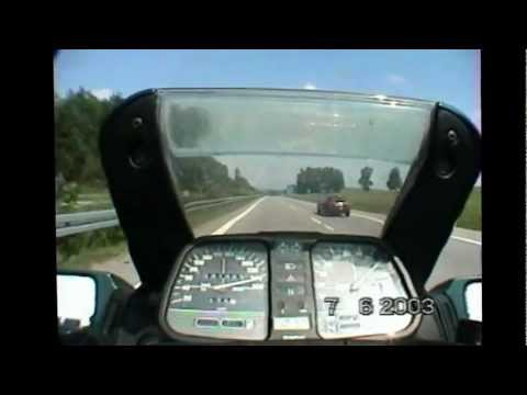 BMW K100RS Autobahn