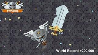 EvoWars.io Evolutions Unlocked 25/25 World Record +200,000