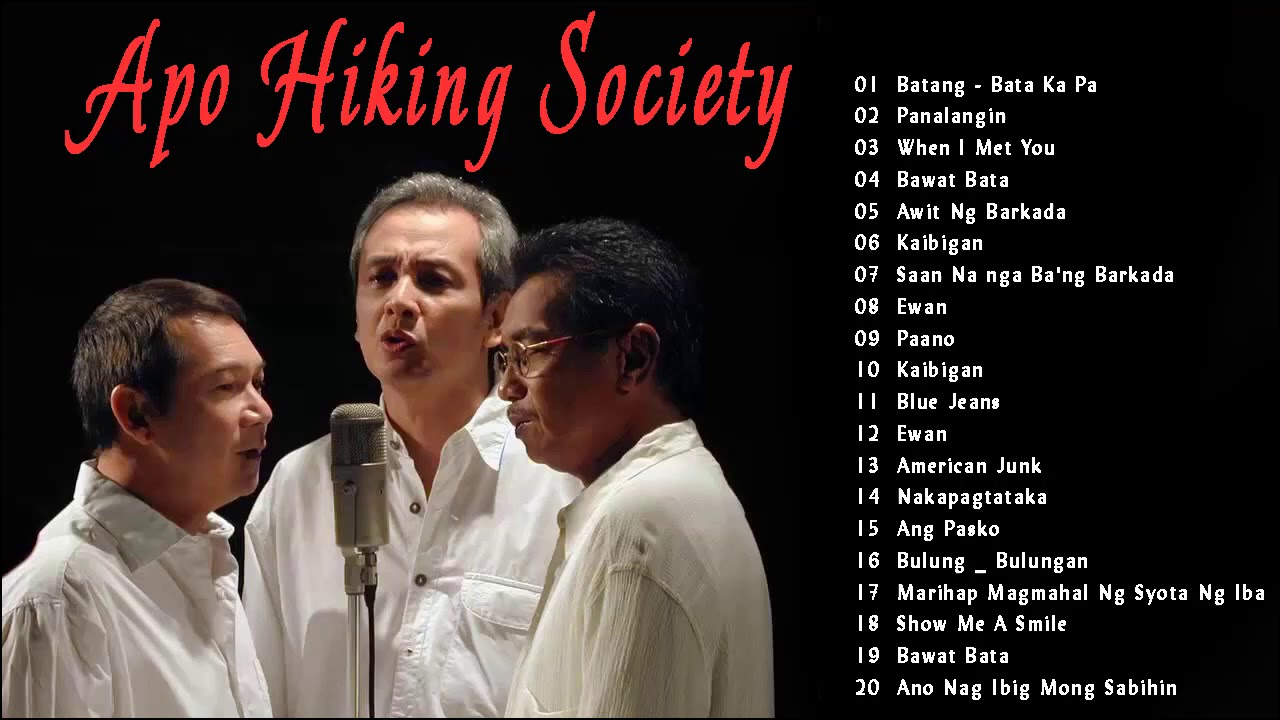 Download The Greatest Hits Of Apo Hiking Society  - The OPM Nonstop Songs