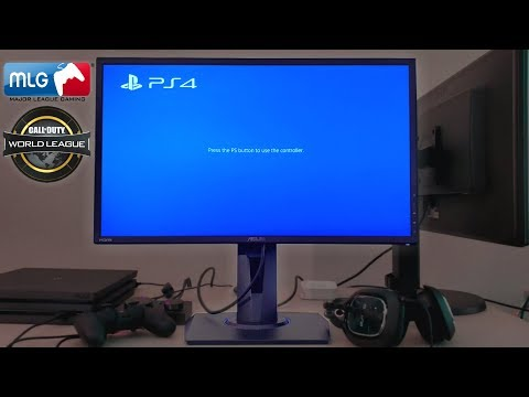 Console Esports Pro Gaming Monitor for PS4   ASUS VG245h