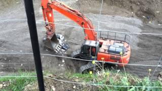 Breaking up asbestos video