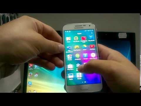 Samsung Galaxy E5 short review and Taking a screenshot